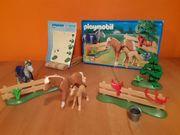 Playmobil 4188 Pferdekoppel gebraucht OVP