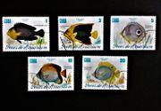 Briefmarken Cuba Fische