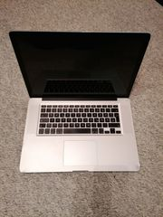 MacBook Pro 15 Zoll Anfang