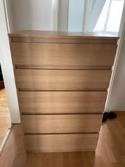 Kommode mit 5 Schubladen Sideboard