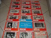 37 Bowling-Magazine 1982-1985 Rarität