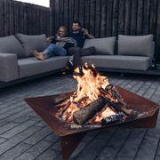 höfats - TRIPLE 120 Feuerschale - Design-Feuerstelle