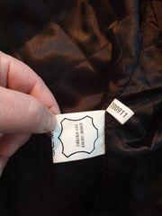 Neuwertige gebrauchte Herren Leder Jacke