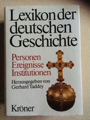 Lexikon der deutschen Geschichte