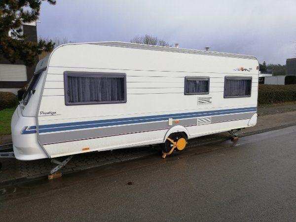 wohnwagen Hobby 560 KMF -Ul-UF
