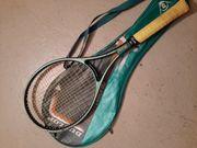 Tennisschläger mit Hülle