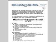 Metallbauer Industriemechaniker m w d