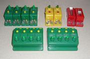 TRIX Drucktasten-Weichen-Schalter Konvolut 6595 6596