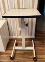 Tisch Beistelltisch Stehpult grau mit
