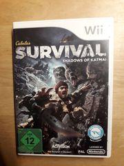 Wii Spiel Cabelas Survival Shadows