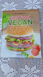 Neuwertiges modernes Kochbuch Fast Food
