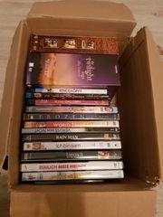 Verschiedene dvds und blurays