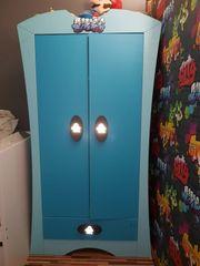 Ikea Mammut Kleiderschrank blau