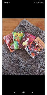 4 diverse Bücher für Mädchen