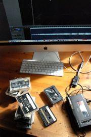 Wir digitalisieren Schallplatten und Kassetten
