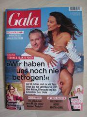 Brandneu ungelesen Zeitschrift GALA Nr