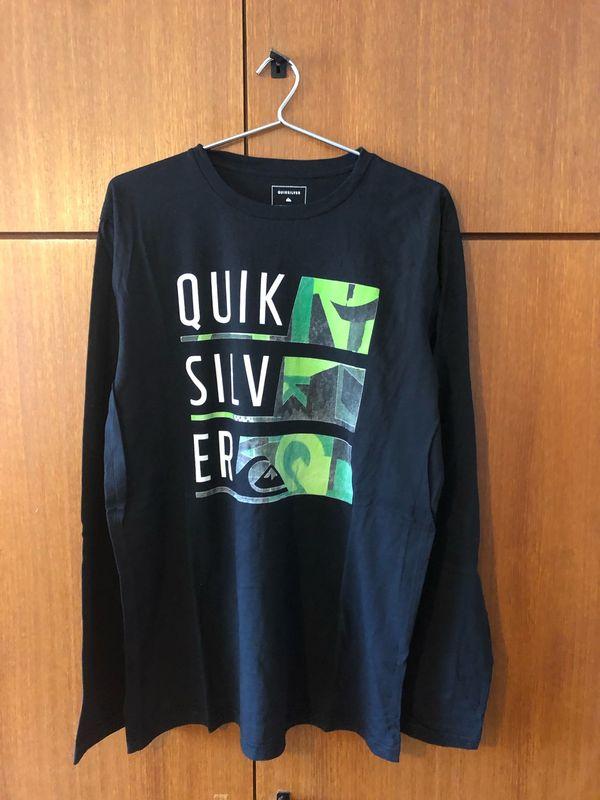 Quiksilver Langarmshirt Gr L 52