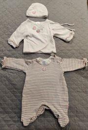 Babyset aus Strampler Jacke und