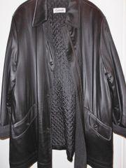 Kurzmantel Longjacke Mantel schwarz Gr