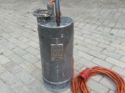 VEB Oddesse Schmutzwasserpumpe Pumpe Tauchpumpe