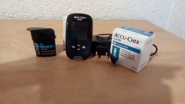 Accu-Chek Teststreifen für Blutzuckermessung