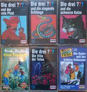 6 Kinder Hörspielkassetten Die drei