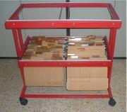 Bürowagen mit Register