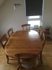 Tisch 6 Stühle