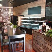 Selbstbedienung Möbel Cafe