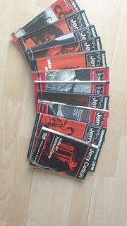 Jerry Cotton 11 Bände aus