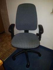 Schreibtischstuhl Bürostuhl mit Armlehnen Bodenschutzmatte