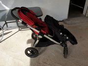 Doppelkinderwagen Geschwisterwagen Baby Jogger City