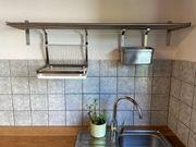 gebrauchte Küchenzeile mit Elektrogeräten
