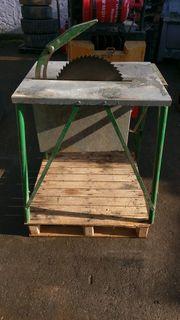 Schöne 380Volt Tischkreissäge Bauholzsäge Brennholzsäge