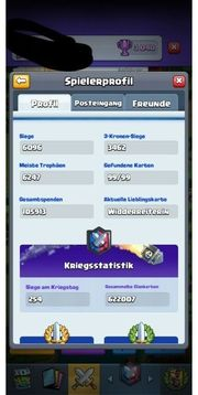 CLASH ROYALE LVL13 SÄMTLICHES MAX