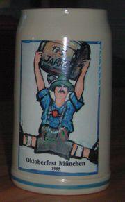Wiesn-Bierkrug Sammlerstück