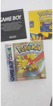 Pokemon Goldene Edition OVP