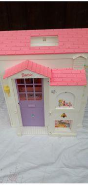 Barbie-Spielhaus 4-fach ausklappbar