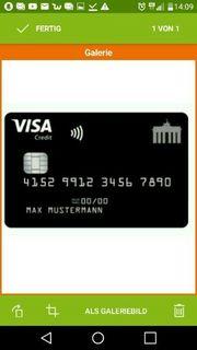 Kreditkarte Classic bis 2 500