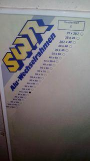 Bilderrahmen Alu-Wechselrahmen Holzrahmen Poster