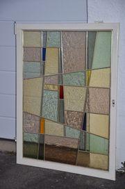 Vintage Buntglas Fenster Klassiker der