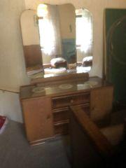 komplettes Schlafzimmer aus den 60igern
