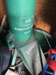 Häcksler Komposter