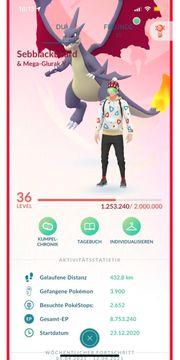 Pokemon go acc trainerclub Konto