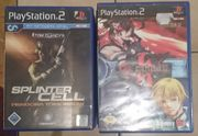 PS2 und Xbox Spiele dazu
