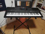 Keyboard neu Halterung