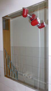 Bad Spiegel mit Trafo und