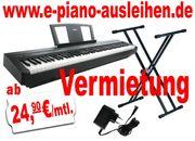 E-Piano ausleihen Digitalpiano mieten Keyboard