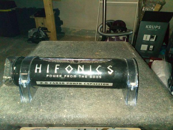 Anlagenkondensator Hifonics