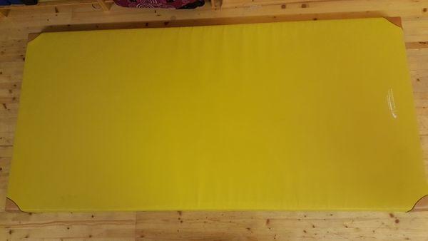 Turnmatte mit Lederecken 100 x